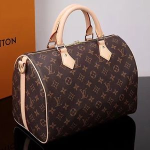 New LOUIS VUITTON Speedy 30 Handbag Purse Nunbubbb
